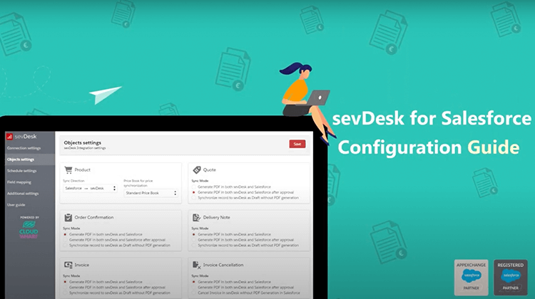 Thumbnail Youtube Video sevDesk for Salesforce Installation Guide