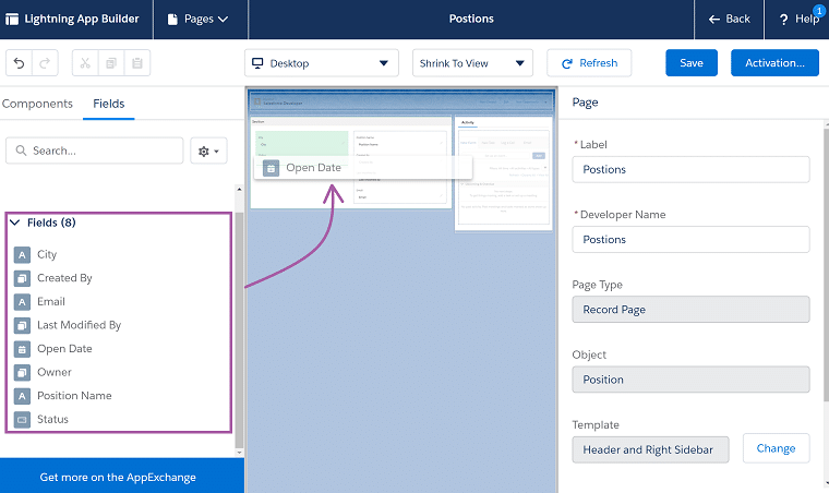 dynamic forms in salesforce